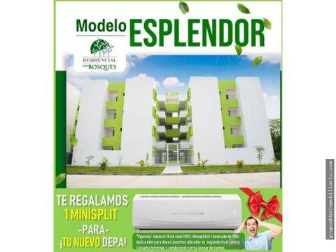 promocion del mes departamentos en residencial los bosques