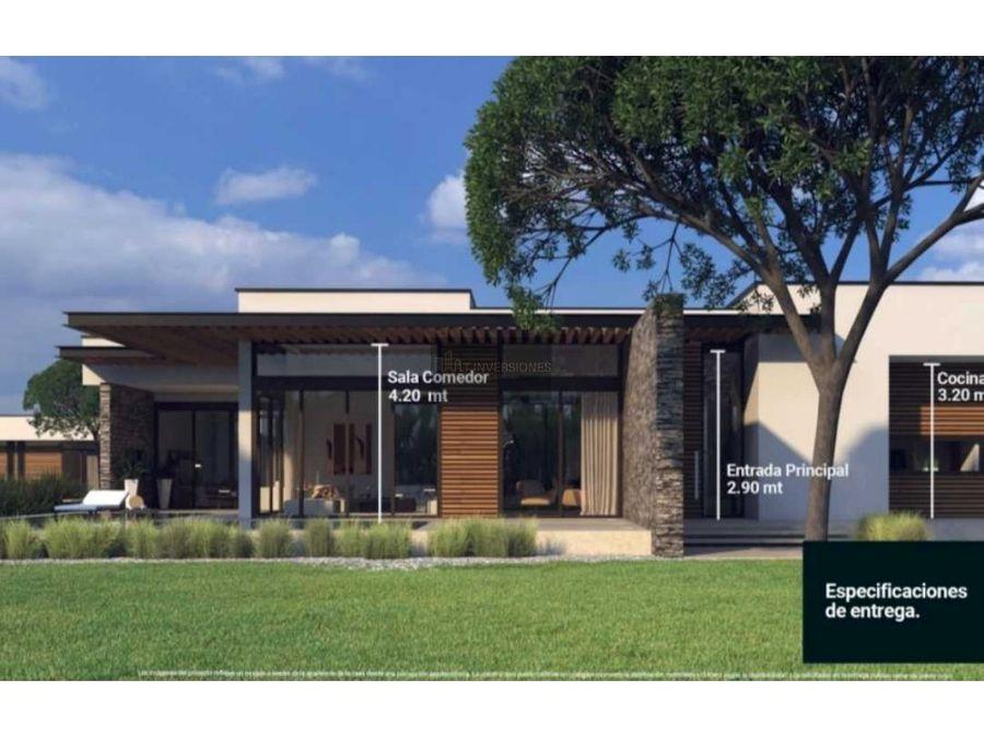 proyecto de casas campestres altea luxury living cerritosrisaralda