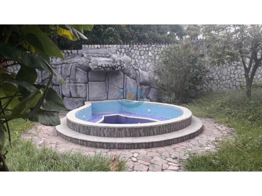 quinta en la urbanizacion el castano maracay