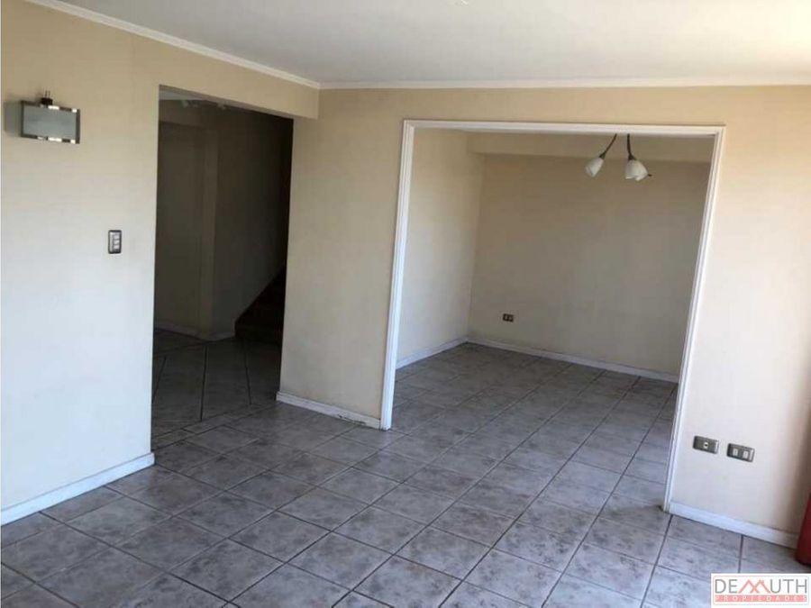 quilpue arriendo casa en condominio central