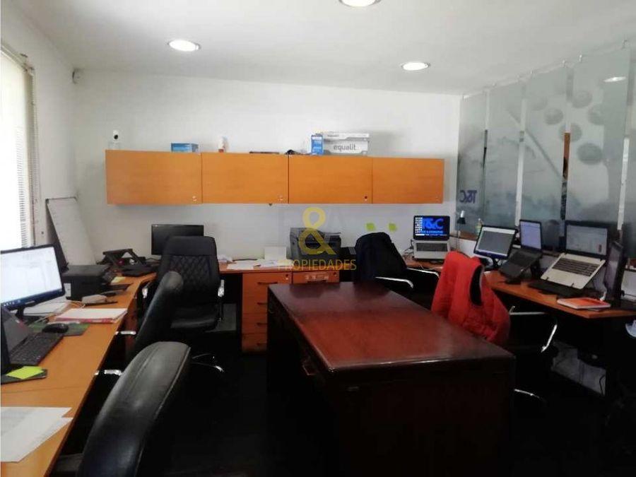 arrienda oficina amoblada sector plaza pinto