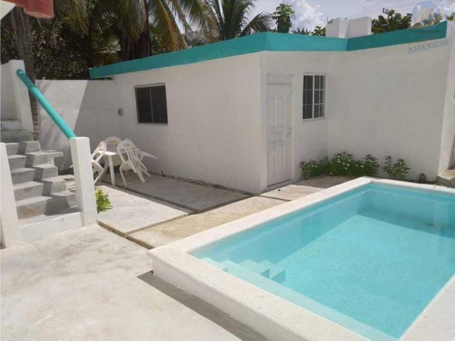 renta casa de playa yucalpeten