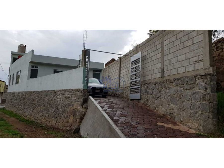 renta casa nueva 1 nivel en tepehitec
