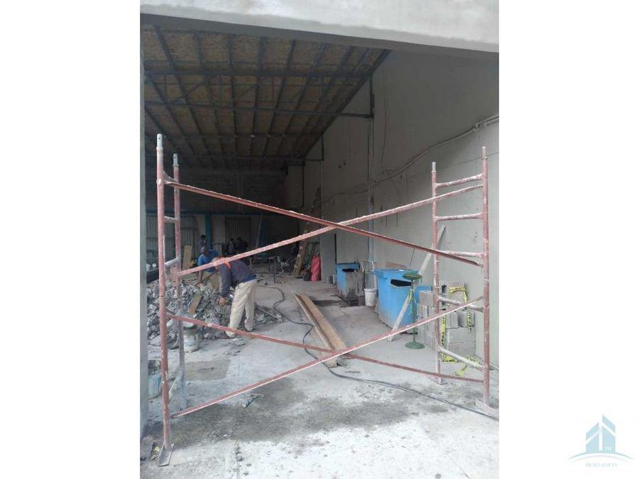 renta de bodega centro comercial plaza marte