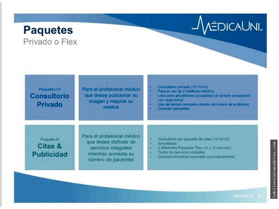 renta de consultorios medicos modernos centricos y con todo incluido