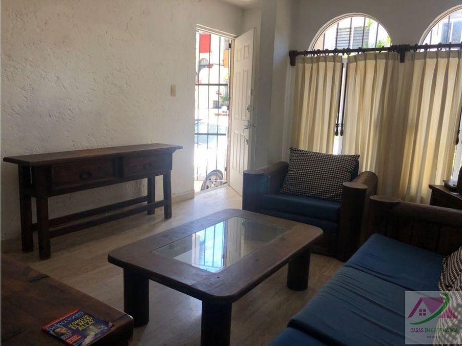 renta de linda casa en fraccionamiento en el centro de cuernavaca mor