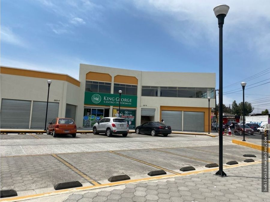 renta local comercial plaza santa julia