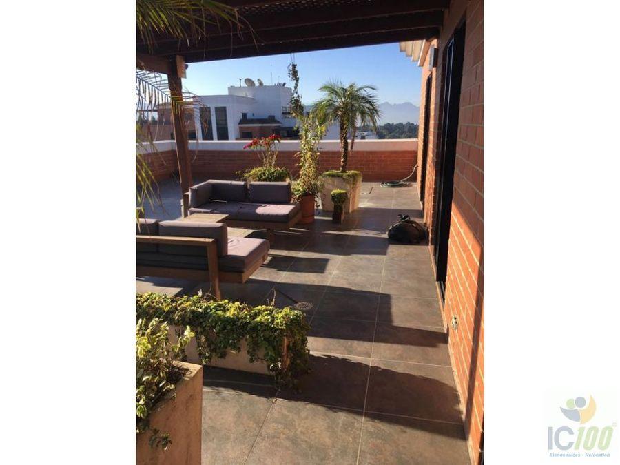 renta penthouse amueblado zona 10 guatemala