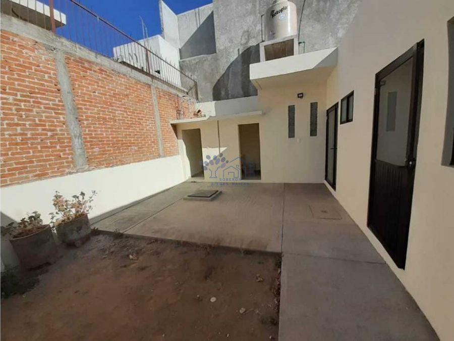 renta casa de 3 habitaciones en calle guerrero sur huamantla