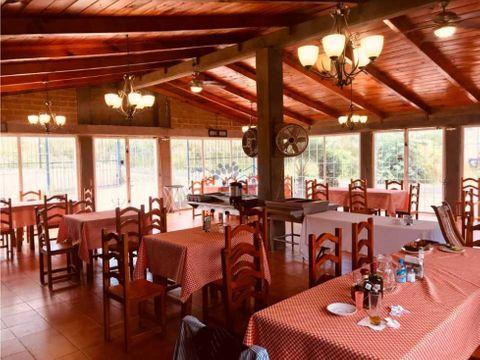 renta restaurante con jardin en tepehitec