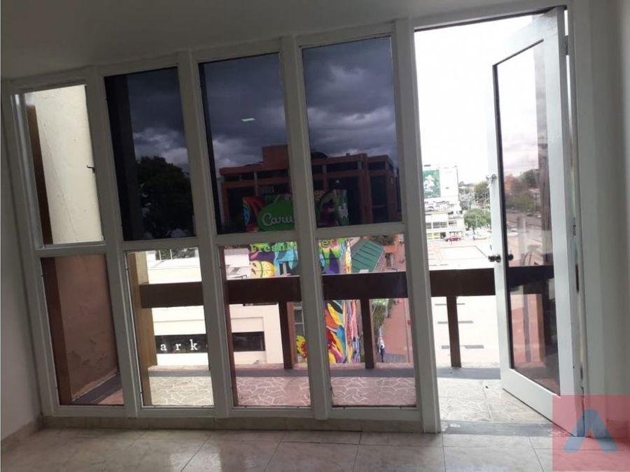 rento oficina ph en el barrio country calle 84 30 m2 terraza