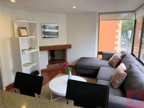 rento apartamento amoblado en el chico 45 m2 1 alcoba 1 bano
