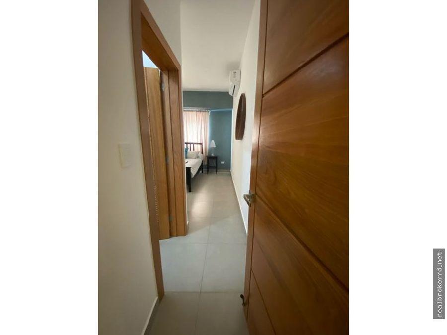 rento apartamento amueblado ensanche naco
