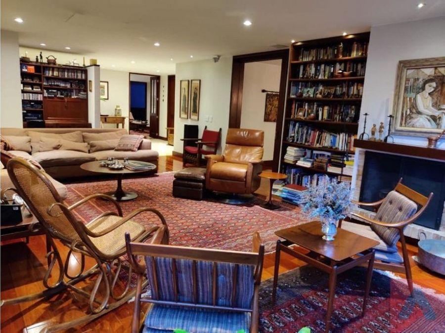 rento apartamento amoblado o no la cabrera 232 m2 3 alcobas