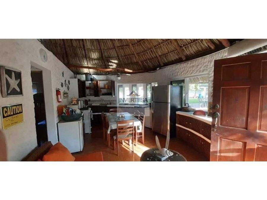 rento casa de playa en monterrico para 15 personas
