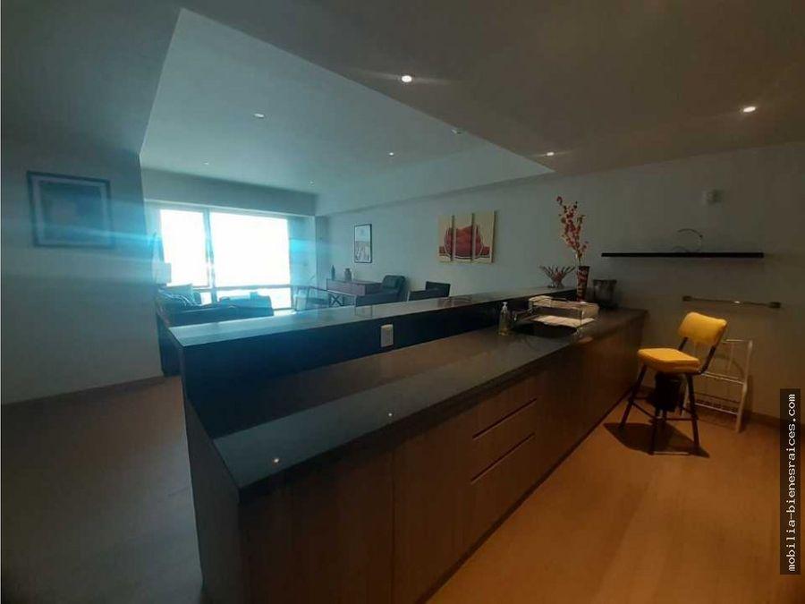 rento lujoso departamento amueblado en la gota residencial 23000