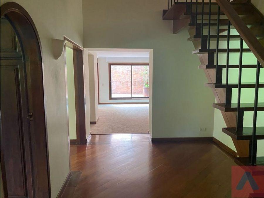 vendo apartamento duplex santa barbara 172 m22terrazas1er p