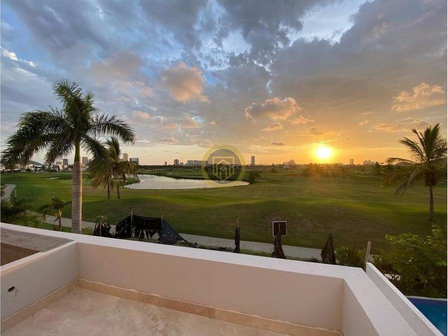 residencia en venta en marina campo de golf mazatlan