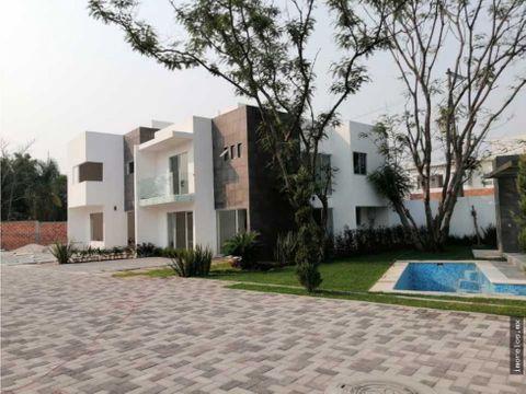 residencial juitepec hermosa casa moderna