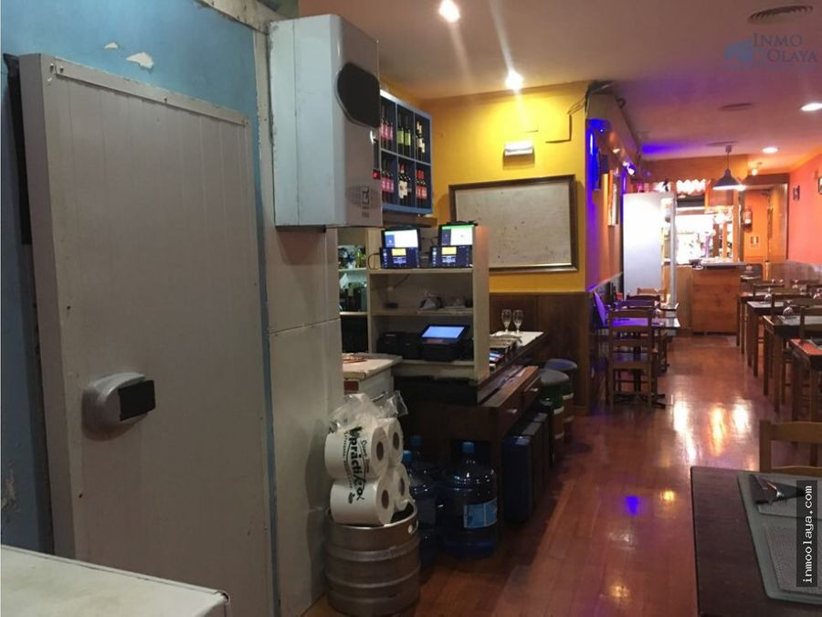 traspaso restaurante c3 a metros de paseo san juan