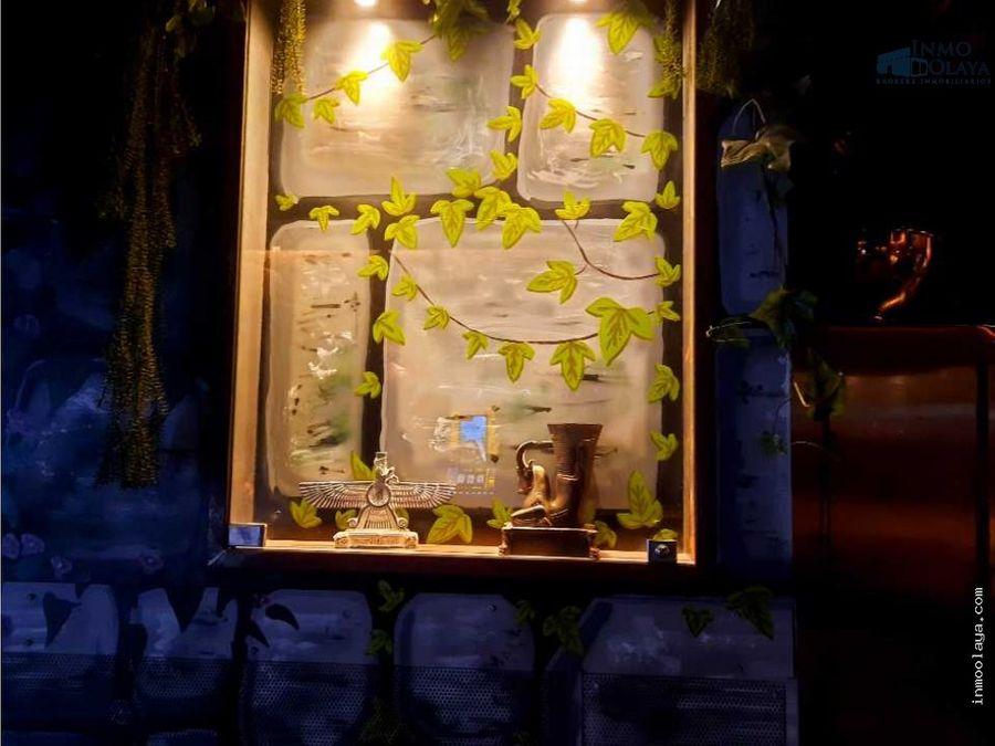 traspaso de restaurante c3 mixto en poblenou