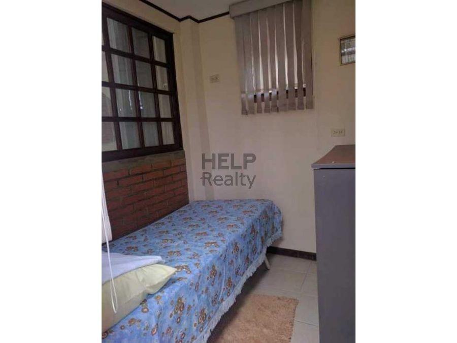 se alquila apartamento amueblado en moravia
