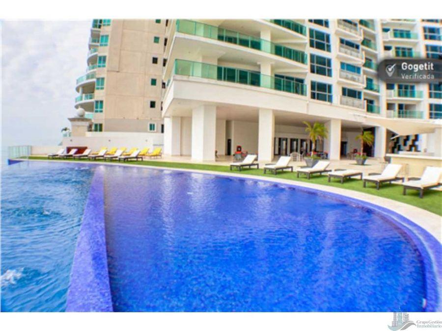 se alquila apartamento amoblado ph oasis on the bay vista al mar 3 rec