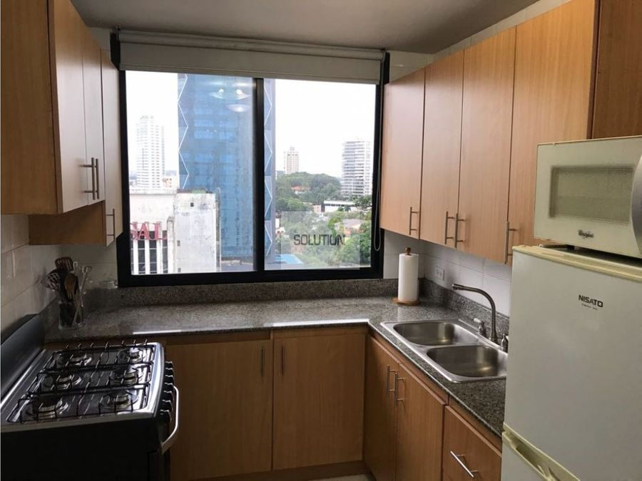 se alquila apartamento bella vista edificio vista tower