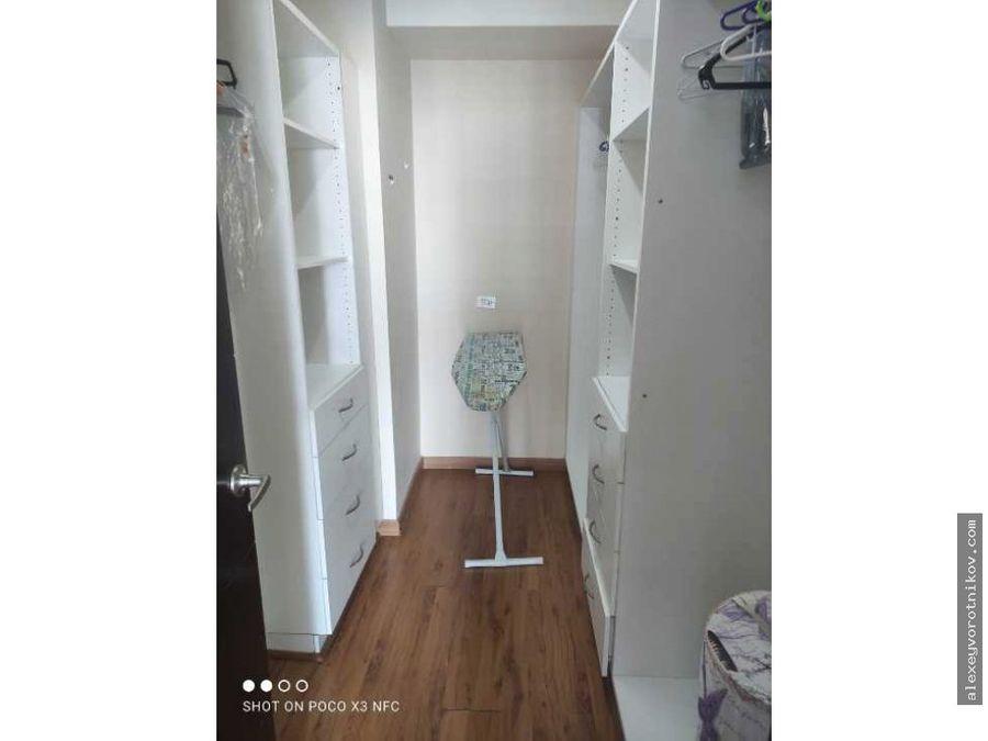 se alquila apartamento ubicado en ave balboa mg