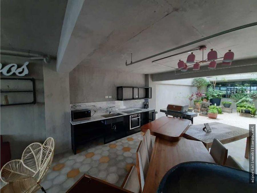 se alquila apartamento estudio en urbn escalante