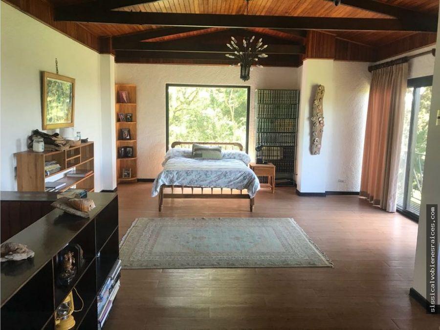 se alquila hermosa casa con vista a sj en san ramon de tres rios