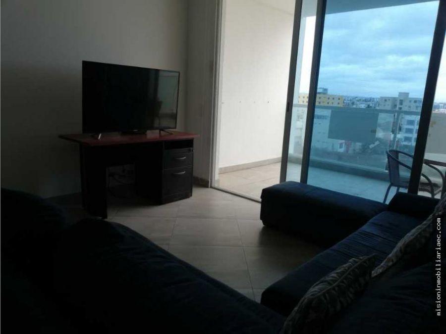 se alquila hermoso departamento de 3 habitaciones