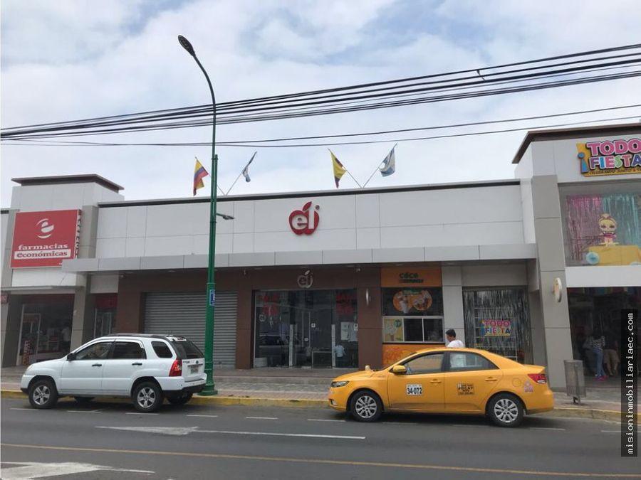 se alquila local comercial en avenida 24