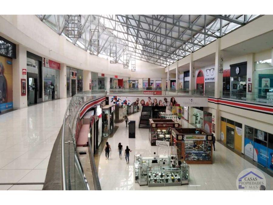 se alquila local comercial en terramall 25 x m2 area de 8618 m2