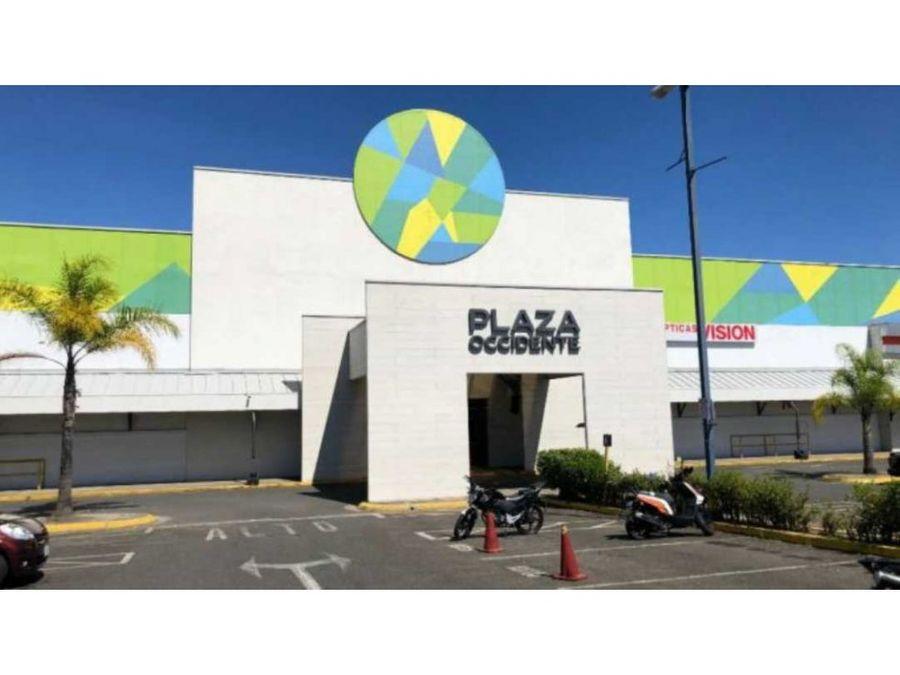 se alquila local comercial en mall plaza occidente