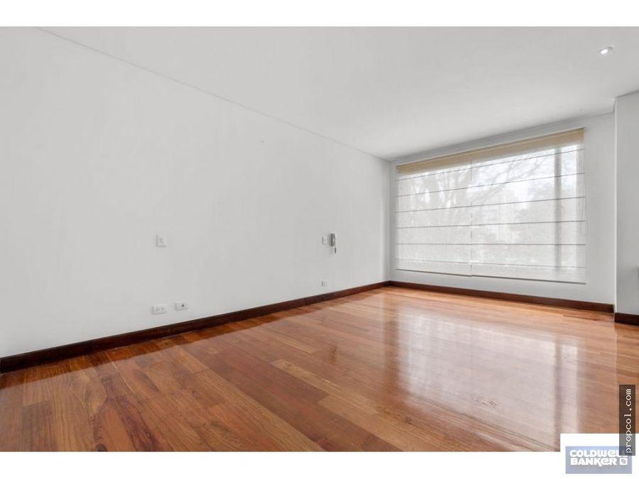 se arrienda apartamento con terraza en chico bogota