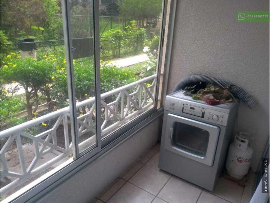 se arrienda departamento condominio jardin suizo sin muebles