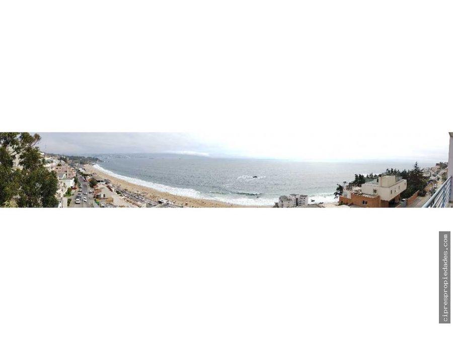 se arrienda hermoso departamento con vista al mar