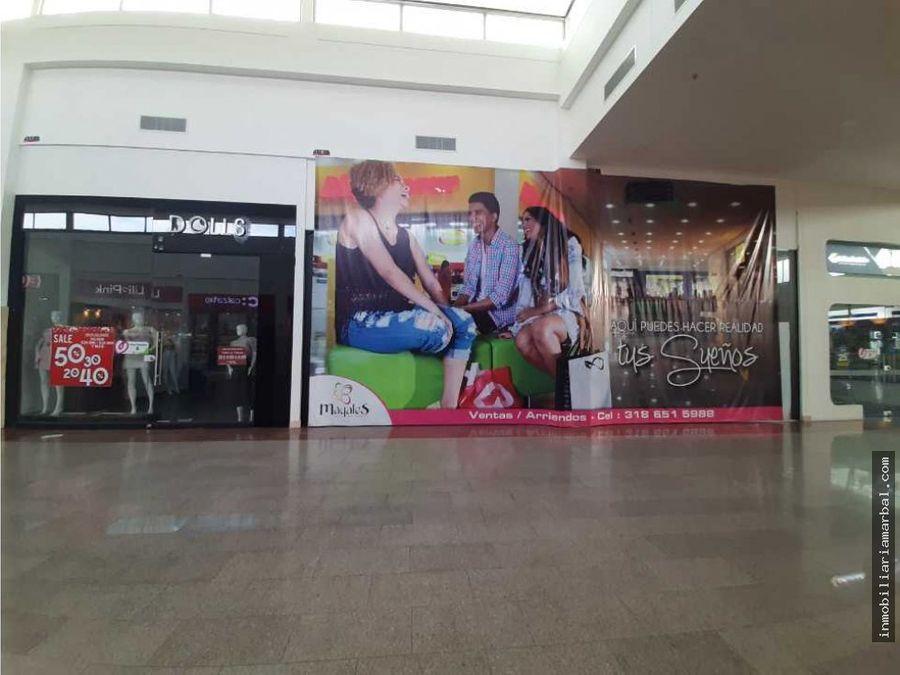 se arrienda local centro comercial mayales