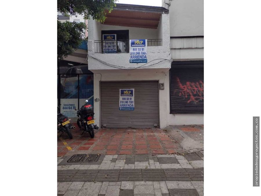 se arrienda local en la 33 laureles para uso comercial