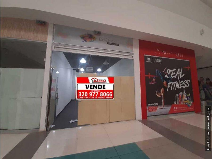se remata local para venta centro comercial unicentro