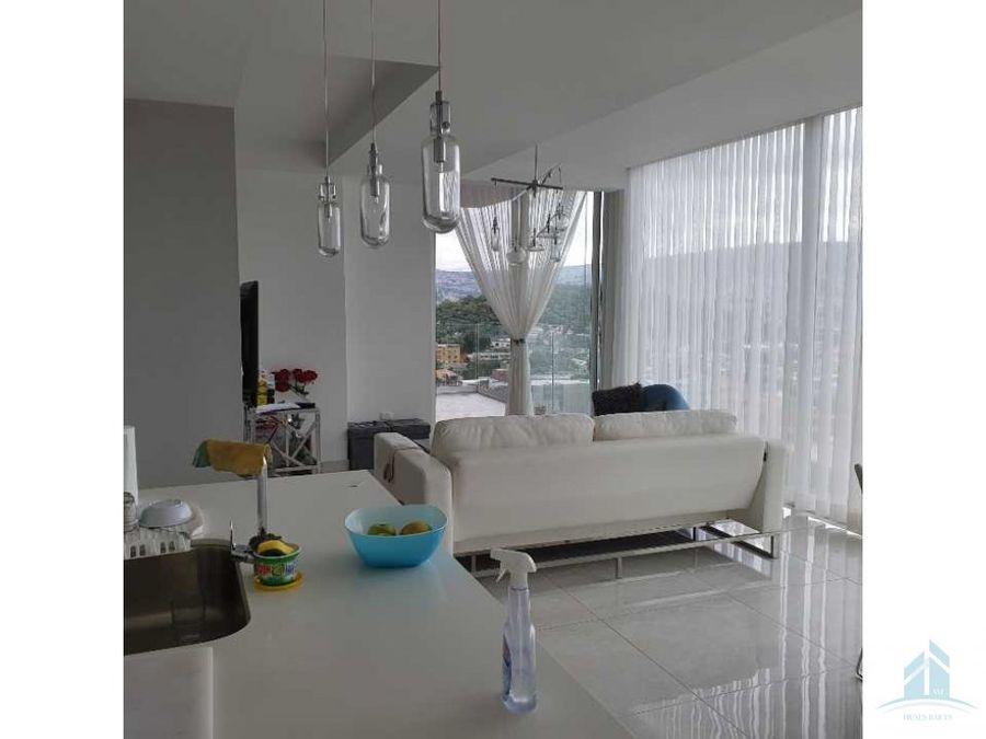 se renta apartamento amueblado dos habitaciones 25 banos en torre ony