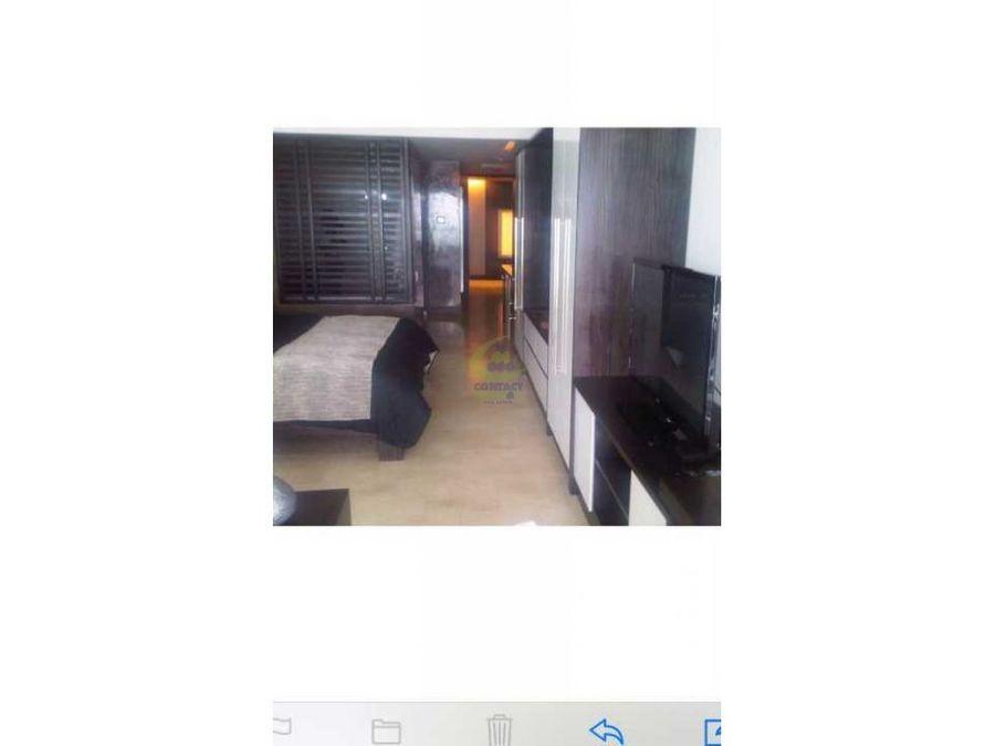 se renta apartamento estudio en trump tower gtb