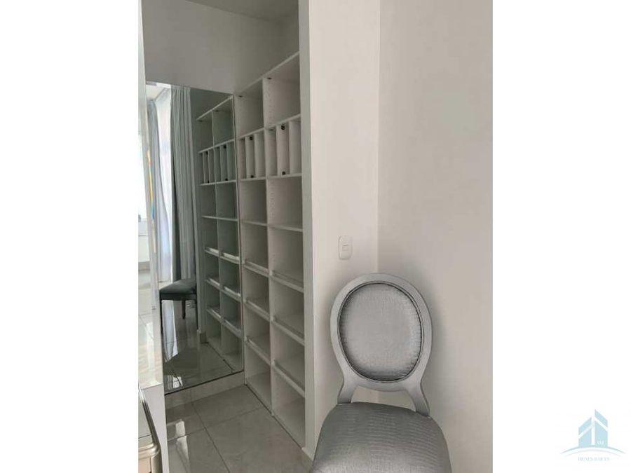 se renta apartamento torre platinum 2 habitaciones