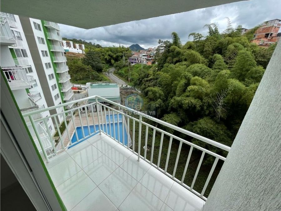 se renta apartamento con hermosa vista