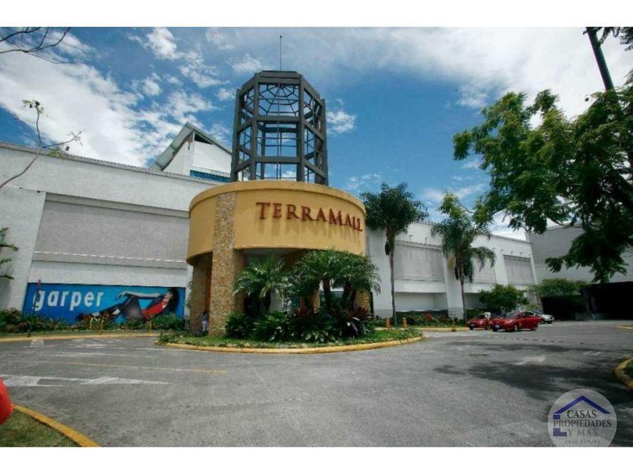 se renta local comercial en terramall 25 x m2 area de 14235 m2