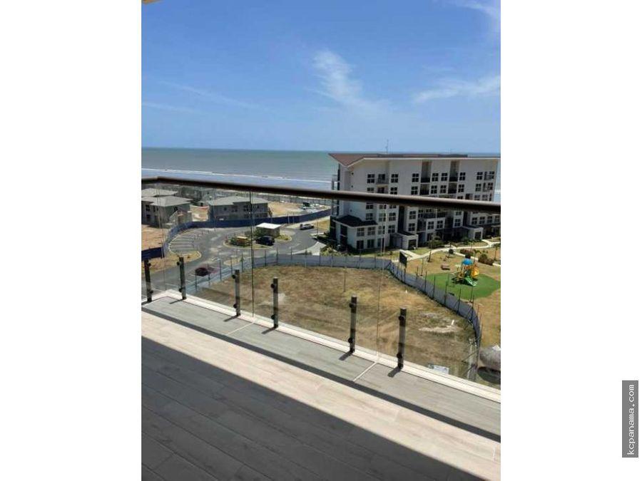 se vende apartamento nuevo en playa caracol con vista al mar