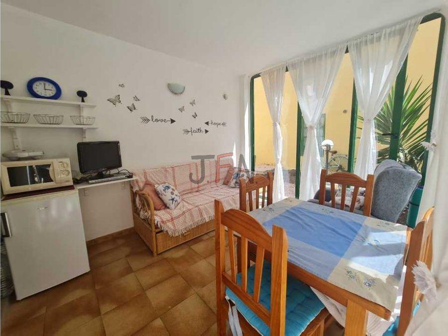se vende apartamento de 1 dormitorio en caleta paraiso