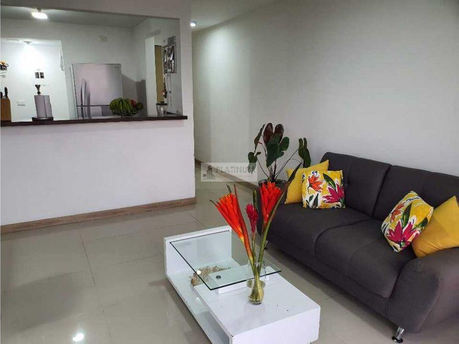 apartamento en venta en condominio en la flora cali ah