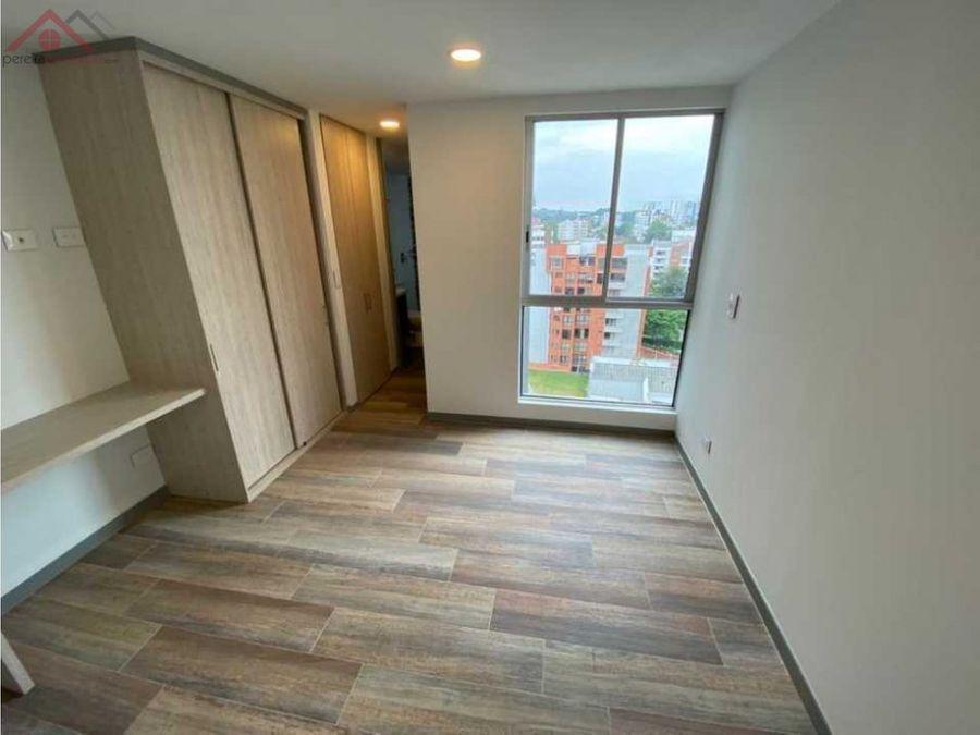 se vende apartaestudio nuevo en pinares